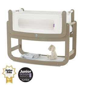 SnuzPod2 Bedside Crib 3 in 1 Putty