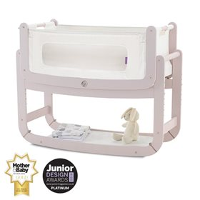 SnuzPod2 Bedside Crib 3 in 1 Blush
