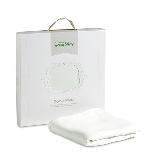 100 Organic Jersey Cotton Baby Blanket