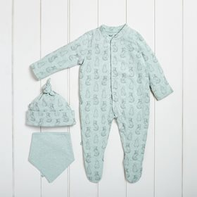 Wild Cotton Organic Baby Gift Set - Rabbit
