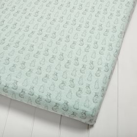 100 Organic Baby Bed Sheets The Little Green Sheep