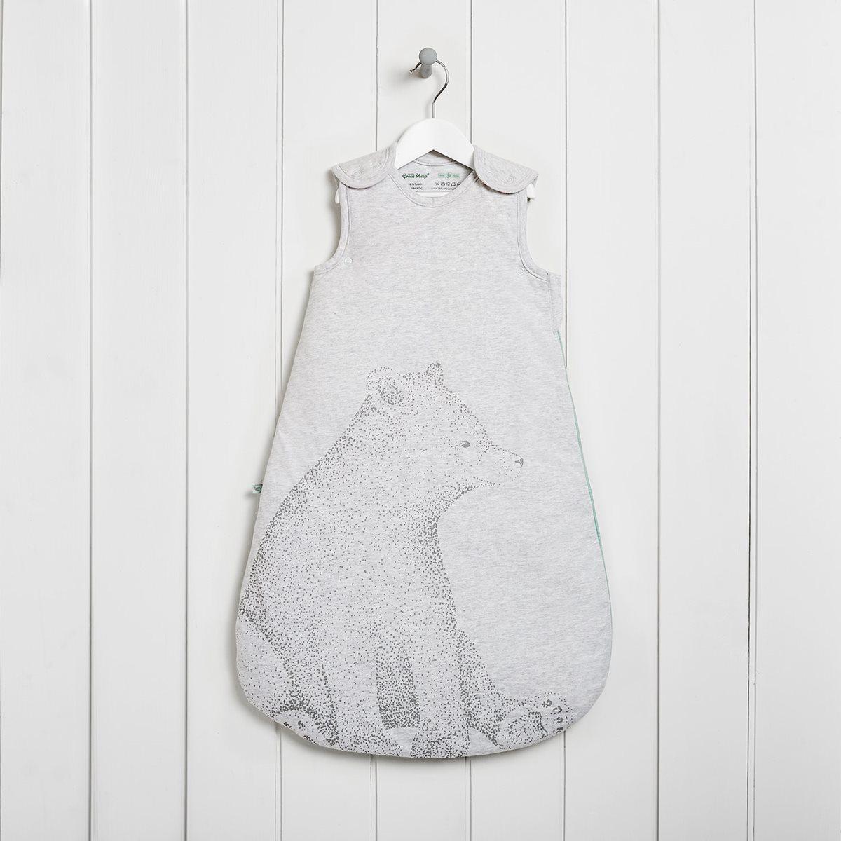 new style 27450 584bb Wild Cotton Organic Sleeping Bag 2.5 Tog - Bear
