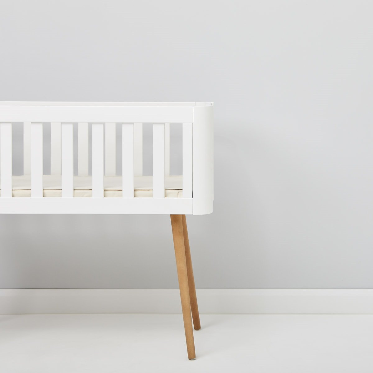 The Little Green Sheep Cot Bed Mattress Protector.