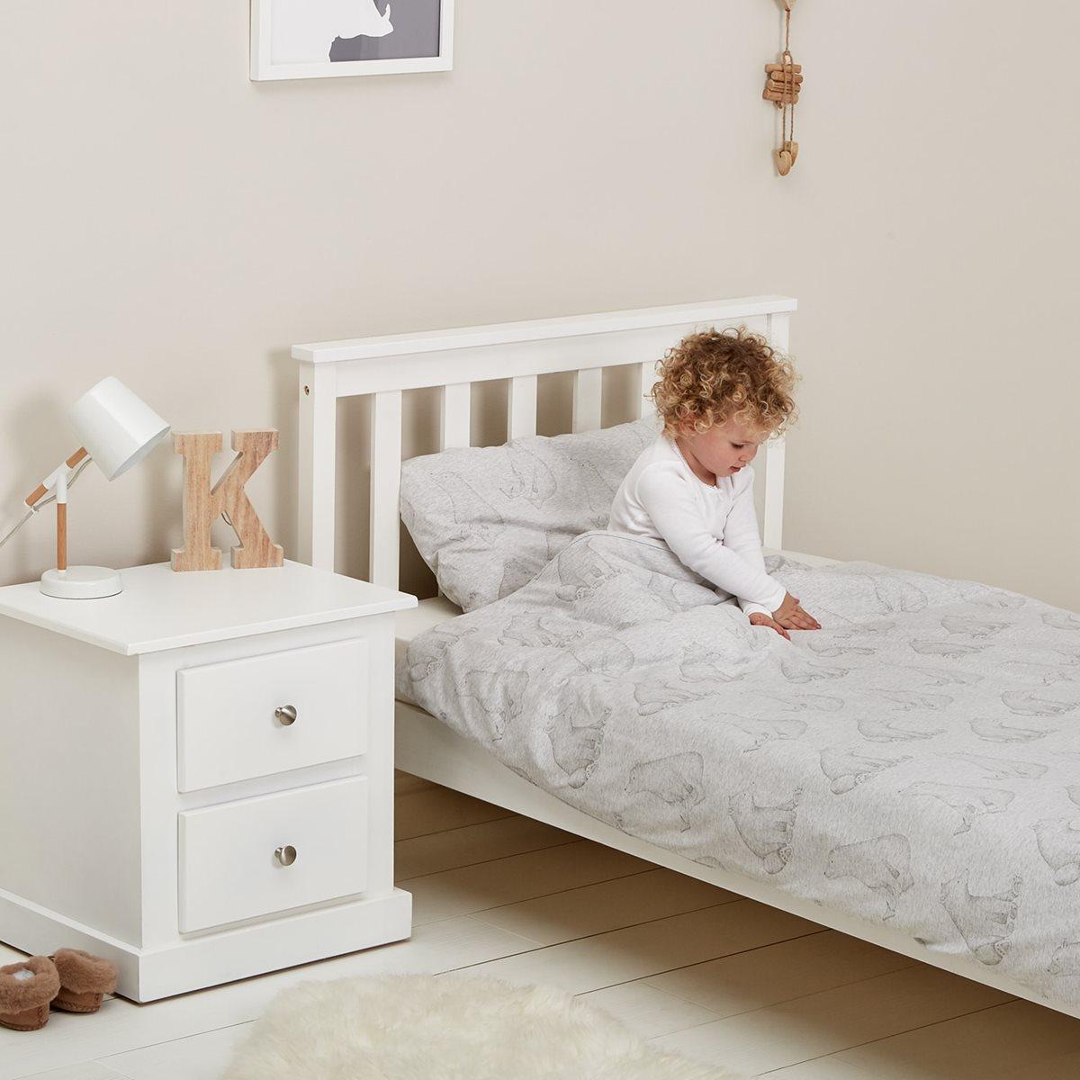The Little Green Sheep Wild Cotton Organic Cot Bed Duvet