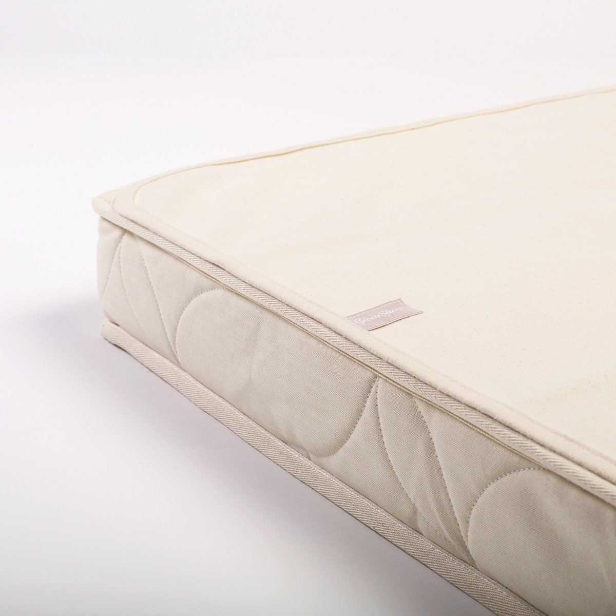 Organic Cot Bed Mattress Protector 70x140cm The Little Green Sheep