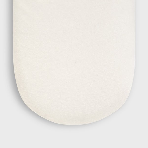 Organic Moses Basket Fitted Sheet - Linen