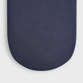 Organic Moses Basket Fitted Sheet - Midnight