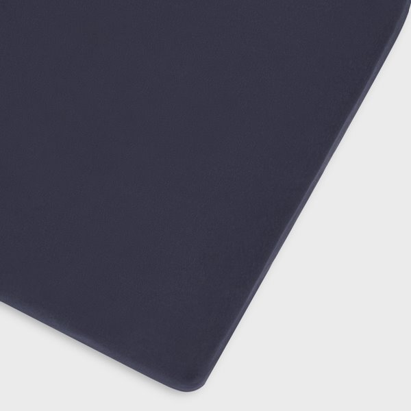 Organic Cot & Cot Bed Fitted Sheet - Midnight