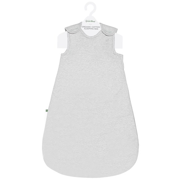 Wild Cotton Organic Sleeping Bag 2.5 Tog - Grey