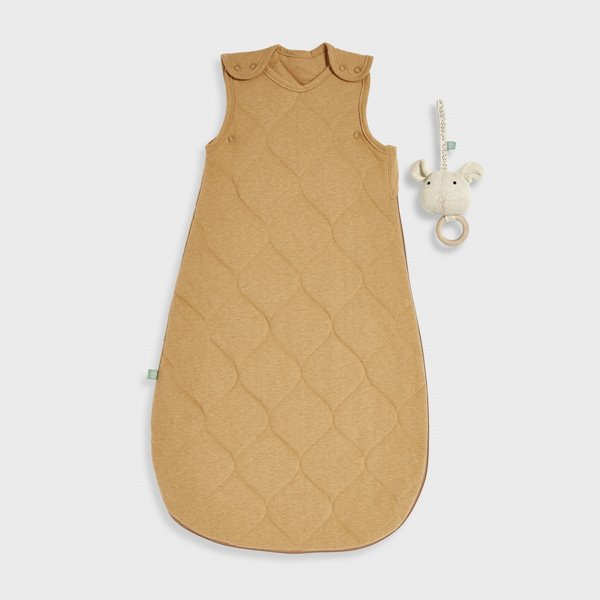 Organic Baby Sleeping Bag 2.5 Tog - Honey
