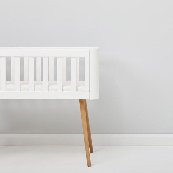 Organic Fitted Sheet to Fit Stokke Mini Crib 60x70cm