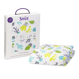 Snuz Cot & Cot Bed Fitted Sheet – Rootin' Tootin'