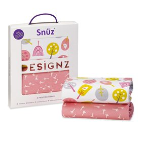 Snuz Crib 2 Pack Fitted Sheets – Little Tweets