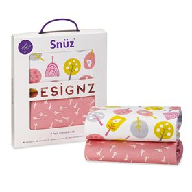 Snuz Moses Basket/Pram 2 Pack Fitted Sheets – Little Tweets