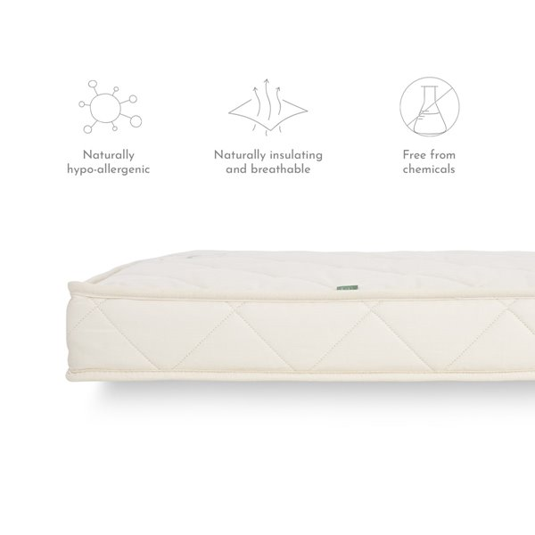 Twist Natural Cot Bed Mattress to fit Mamas and Papas 400